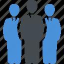 businessman, leader, team, teamwork icon