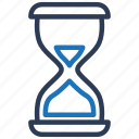 hour, hourglass, sand timer, sandglass, time, timing icon