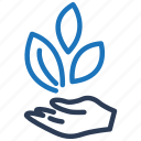 leaf, business, leaves, startup, start up, agriculture icon