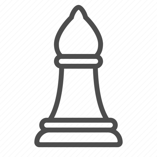 Bishop, chess, game, logic, pawn, piece, strategy icon - Download on Iconfinder