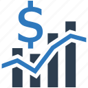analysis, analytics, business, business progress, cash, chart, charts icon