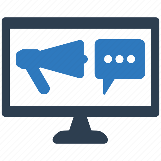 business chat, financial, online, promoting, viral marketing icon