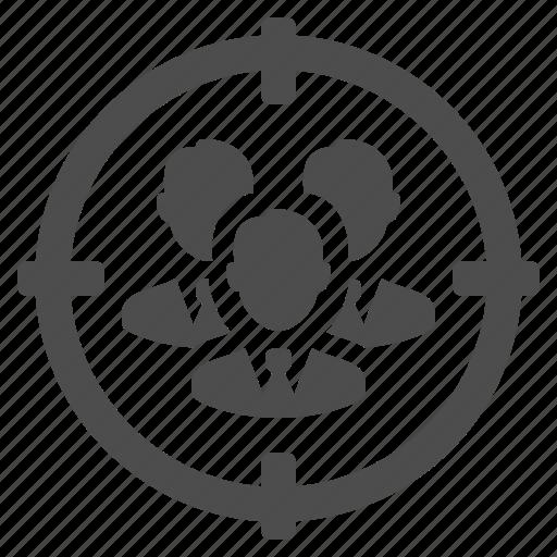 aim, business, businessman, men, target icon