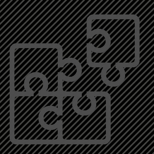 logic, piece, puzzle, strategy icon