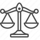 justice, scales, weighing, weight scale