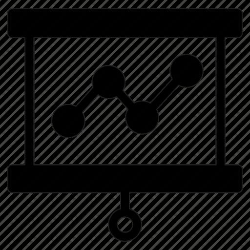 board, business, chart, presentation icon