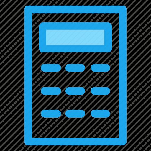 business, calculator, finance, shady icon