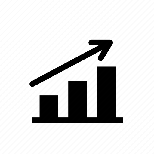 business, finance, graph, higher, increase, statistics, success icon