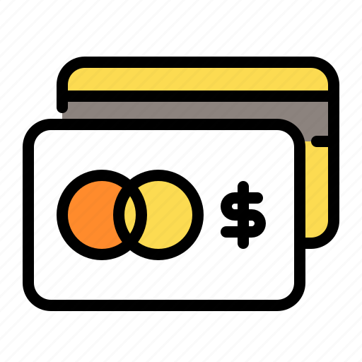credit card, shopping icon