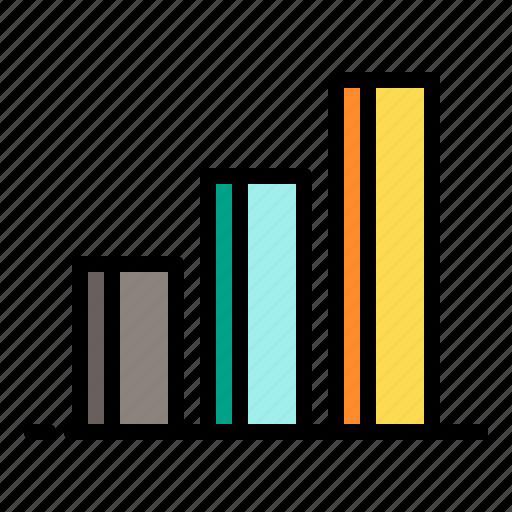 analytics, chart, graph, shopping, statistics icon