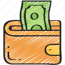 business, ecommerce, money, payment, wallet icon