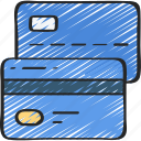 banking, business, card, credit, finances, money icon