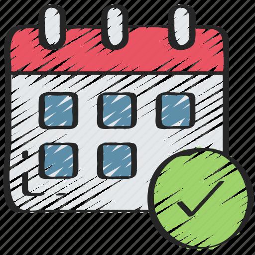 business, calendar, deadlines, meet, schedule, time icon