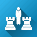 board game, checkmate, chess, leadership, management, strategy, tournament icon