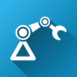 industrial, industry, manipulator, mechanic, mechanical worker, robot, working droid icon