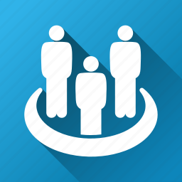 conference, customers, meeting, people, social group, staff, users icon