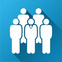 customers, people, social network, staff, team, user group, users icon
