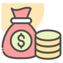 bag, business, currency, dollar, finance, money icon