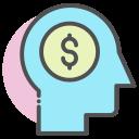businessman, creative, idea icon