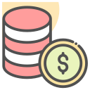currency, coin, dollar, finance icon