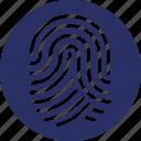 biometric, fingerprint, identification, thumbnail
