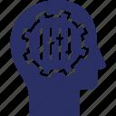 adjuster, brain, mind, mindset, self actualization icon
