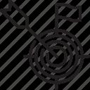 target, aim, objective, goal, crosshair