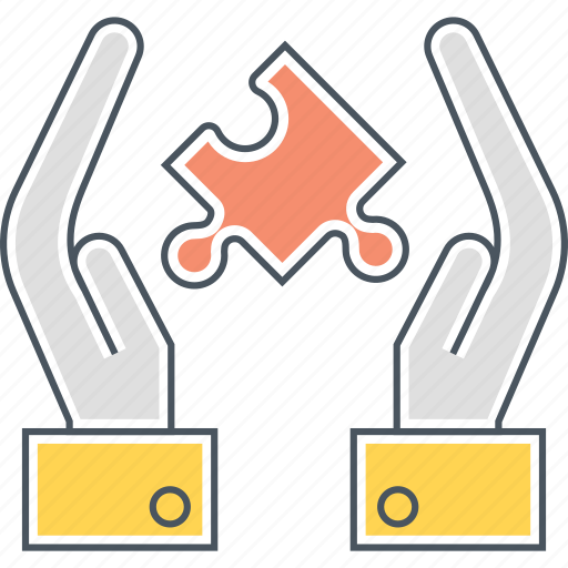 problem solving, puzzle, solution icon
