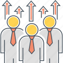 engagement, motivate, motivation, workforce icon