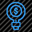 business, finance, goal, idea, marketing, seo icon