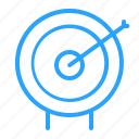 advertising, business, goal, marketing, target icon