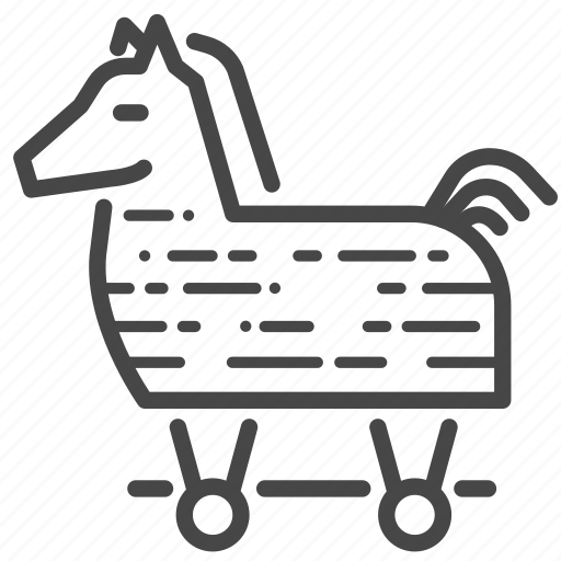 business, horse, strategy, tactic, trick, trojan icon
