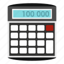 calculator, display, economy, mathematical, mathematics, multiply, subtraction icon