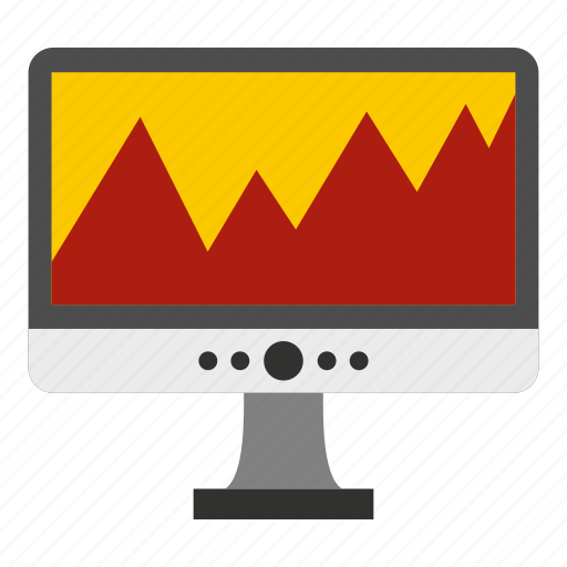 computer, digital, display, network, pc, screen, technology icon