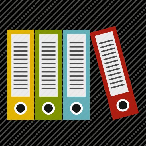 business, file, folder, open, organizing, paper, portfolio icon