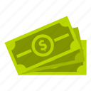 bribe, cash, dollar, loan, money, pay, tax icon