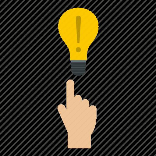 bulb, energy, lamp, light, lightbulb, power, technology icon