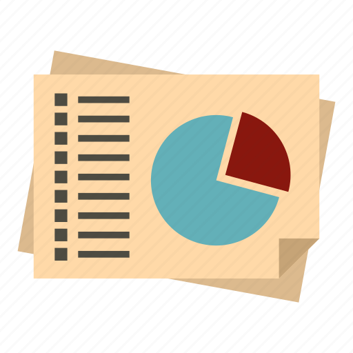 business, diagram, percent, segment, segmented, slice, slide icon