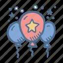 award, balloons, business, clelebration, finance, success