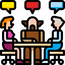 business, conversation, discussion, group, meeting, team, teamwork