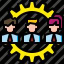 businessman, employee, group, people, team, teamwork, worker
