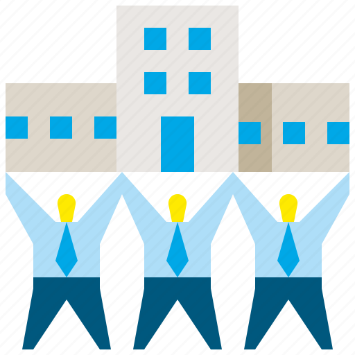 building, business, company, group, office, team, teamwork icon