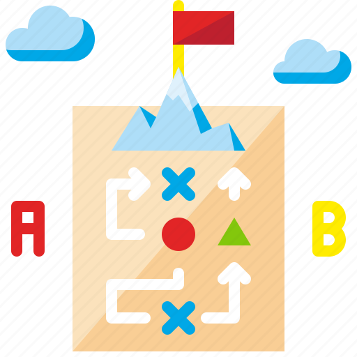 business, plan, planning, project, strategy, success, teamwork icon