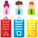 analysis, business, data, document, marketing, report, teamwork icon