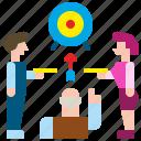 arrow, business, goal, success, target, team, teamwork