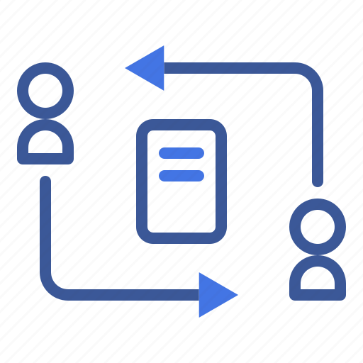 data, document, file, flow, information icon
