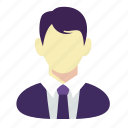 business, man, manager icon