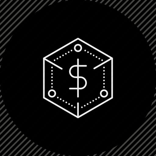 business, finance, money, new, startup icon