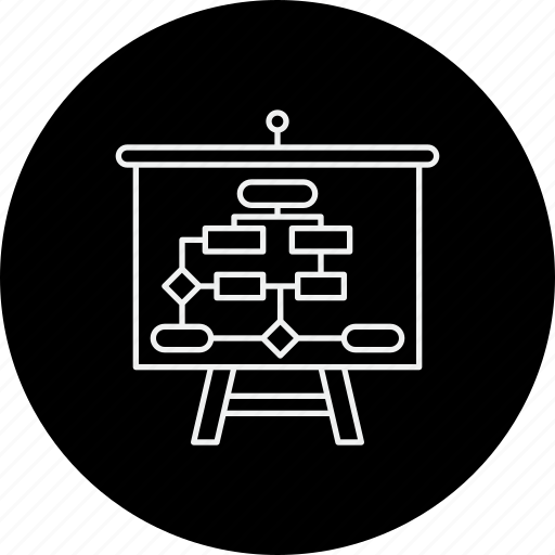 business, plan, planning, strategy, tactics, workflow icon