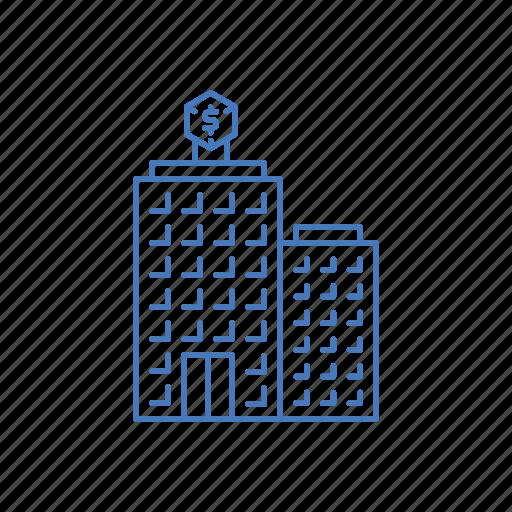 building, business, company, corpotation, enterprise icon